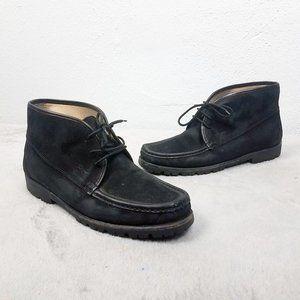 Salvatore Ferragamo Italian Leather Ankle Boots